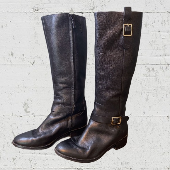 Cole Haan Kenmare Leather Riding Boots